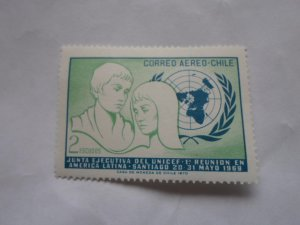 CHILE STAMP IN FINE CON. AIRMAIL MNH # 14