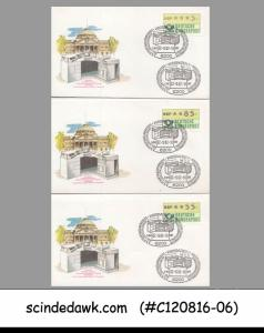 GERMANY - 1985 SELECTED 5 SPECIAL COVERS WITH METER STAMPS WITH CANCL.