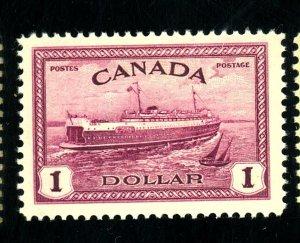 CANADA #273 MINT VF OG NH Cat $45