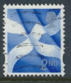 GB Regional Scotland 2nd Class  SG S109 SC#20 Used Scottish Flag  see details