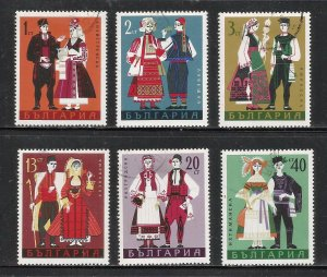 Bulgaria 1968 Scott# 1715-1720 Used CTO Complete Set