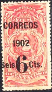 Guatemala #113   MH  PARTIAL OG