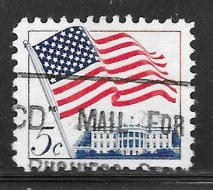 USA 1208: 5c Flag, used, VF