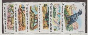Maldive Islands Scott #389-394 Stamps - Mint Set