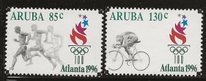 ARUBA  SC #  137 - 8    MNH