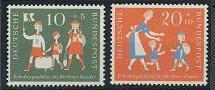 Germany B354-B355 MNH (1957)