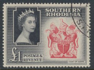 Southern Rhodesia  SG 91  SC# 94  Coat of Arms  Used / FU    see scans