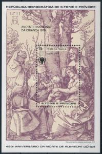 Sao Tomé e Príncipe stamp International Childrens Year 1979 MNH Mi 40 WS221447
