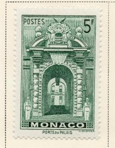 Monaco 1940-46 Early Issue Fine Mint Hinged 5F. 325406