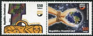 HERRICKSTAMP NEW ISSUES DOMINICAN REP. Sc.# 1586 UPAEP 2015 Human Trafficking