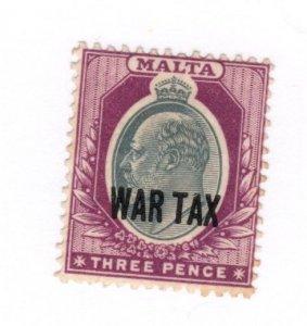 Malta #MR2 MH - Stamp CAT VALUE $3.00