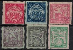 Paraguay #C19-24*u CV $6.60