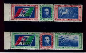 Italy SC#C48 - C49 MNH F-VF SCV$675...The Iconic Italo Balbo sets!!