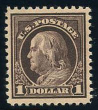 US Scott #518 Mint, XF, NH