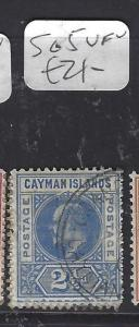 CAYMAN ISLANDS (P1111B)   KE    2 1/2D   SG  5   VFU