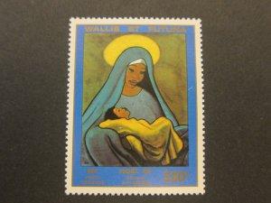 French Wallis and Futuna Islands 1985 Sc C145 Christmas Religion set MNH
