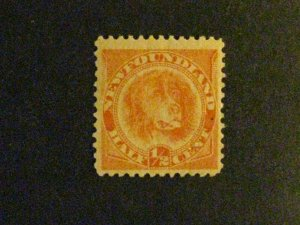Newfoundland #56 mint hinged  a1910.9792