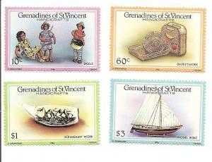 St. Vincent Grenadines 519-522 MNH