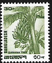 BANGLADESH 170 MNH BANANA TREE