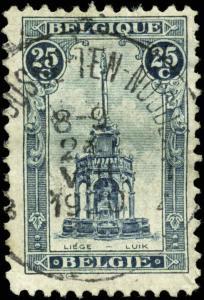 Belgium Scott #123b Used