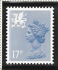 Great Britain-Wales & Monmouthshire # WMMH30 (MNH) $0.85