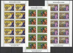K1147 2007 GUINEA ART SPANISH PAINTINGS MIRO PICASSO DALI 10SET MNH