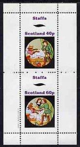 Staffa 1982 Fairy Tales (Little Red Riding Hood) perf set...