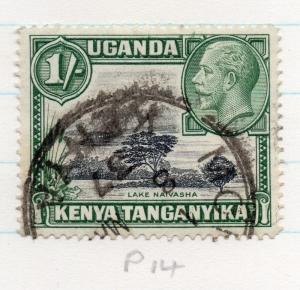 Kenya Uganda Tanganyika 1935 GV Early Issue Fine Used 1S. 198452