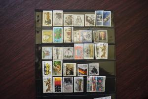 GERMANY COLLECTION 1985 YEAR SET  USED  CAT VALUE OVER 30.00