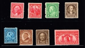 US STAMP 1920 -30 MNH STAMPS COLLECTION LOT #M2