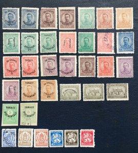 Bulgaria Stamps,1920,Sc#B1-7,1940 Sc#j40-46,national Arms,1919 Sc#138-144,Tsar
