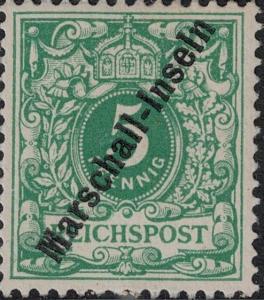 Marshall Islands SC 2 Mint 1897 SCV$ 120.00