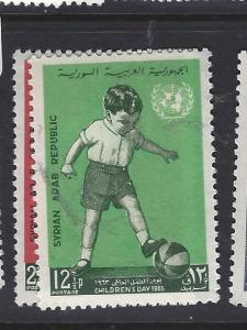 SYRIA   (PP2509BB)  SG  822-3     MNH
