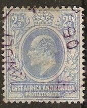 East Africa & Uganda 4 SG KUT 4 Used Nimuli Cds VF 1903 SCV $60.00