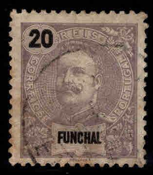 Funchal Scott 18 Used stamp