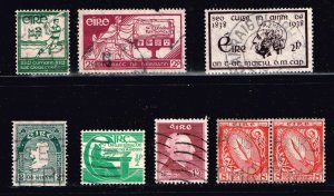 Iceland STAMP USED STAMPS COLLECTION LOT  #2