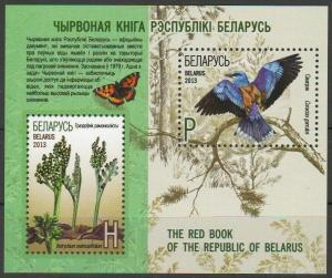 2013Belarus939-40/B97Flora and fauna