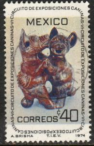 MEXICO 1062, 7th Circuit of Dog Exhibitions. Used. (507)