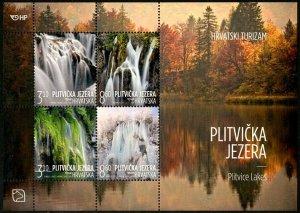 HERRICKSTAMP NEW ISSUES CROATIA Tourism 2019 Souvenir Sheet