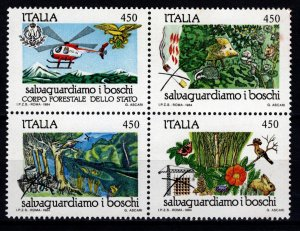 Italy 1984 Nature Protection, Forests Set [Mint]