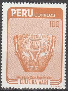 Peru #809  MNH   (K1096)