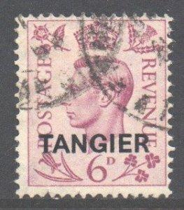 Morocco Tangier Scott 536 - SG266, 1949 George VI 6d used