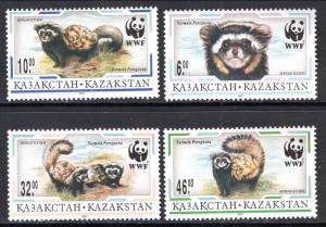 Kazakstan 171-174 Mammals MNH VF