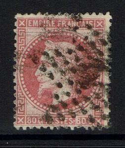 France SC# 36, Used, Horizontal Crease -  Lot 051517
