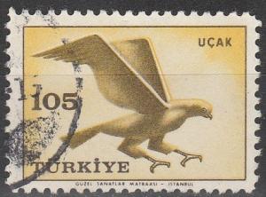 Turkey #C34 F-VF Used  (S1091)