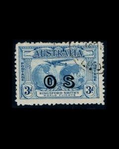VINTAGE: AUSTRALIA 1931 USD LT SCOTT# O2 $ 80  LOT # 4888