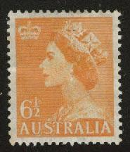 AUSTRALIA Scott 296 MH* from 1956-1957 set