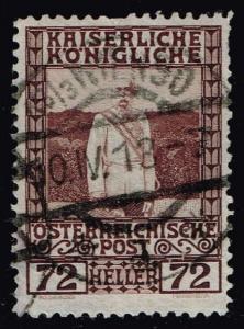 Austria #123 Franz Josef; Used (0.40)