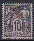 1894 France Offices in China Scott 3 Peace aand Commerce used