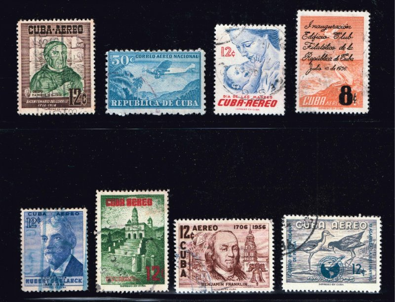 CUBA STAMP Airmail Stamps Collection Lot #11